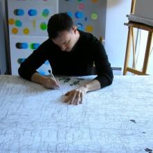 Atelier de Daniel Lahaise, Montréal, 2013