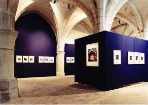 Exposition de Didier Ben Loulou au Musée d'Art et d'Histoire de l'Abbaye Saint-Germain d'Auxerre, 2000.