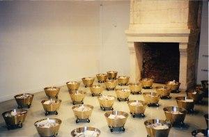 Exposition Domiciles, été 2000, Jean-Pierre Raynaud
