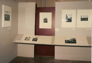Commissariat et scénographie, rétrospective Louis-Alphonse de Brébisson, Falaise (Calvados) été 1989